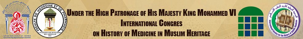 INTERNATIONAL CONGRES on HISTORY of MEDICINE in MUSLIM HERITAGE